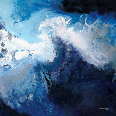 Painting - Hope In The Lord. Psalm 31 24 by Mark Lawrence