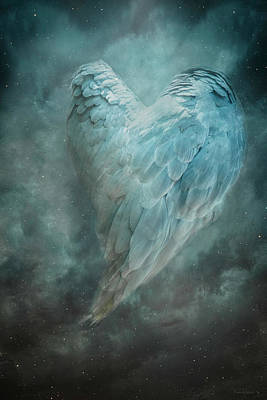Digital Art - Hope Is The Thing With Feathers by Nicole Wilde