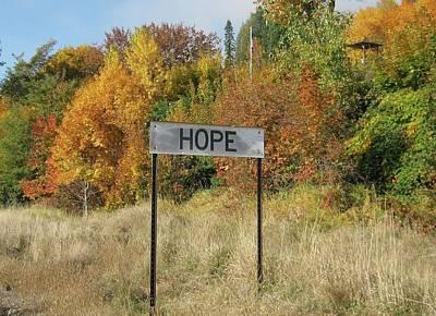Hope Print by Joylyn McChesnie
