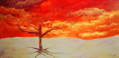 Reality Painting - Hope Tree by Ken Figurski