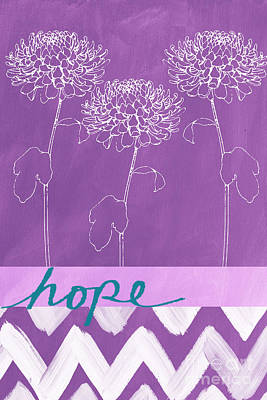 Hope Print by Linda Woods