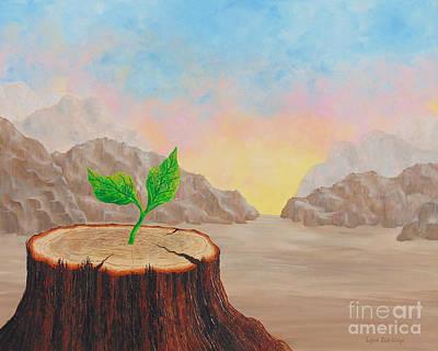 Wall Art - Painting - Hope by Lynn Zuk-Lloyd
