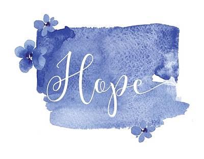 Mixed Media - Hope by Nancy Ingersoll