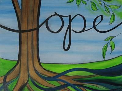 Painting - Hope Of Heaven II by Anna Elkins