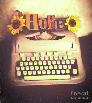 Hope On The Typewriter Original