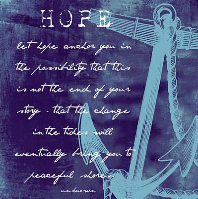 Hope Peaceful Shores V2 Art Print by Brandi Fitzgerald