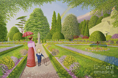 Lawn Green Painting - Hope by Peter Szumowski