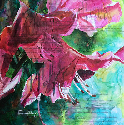 Painting - Hope - Pink Azalea by Trish McKinney