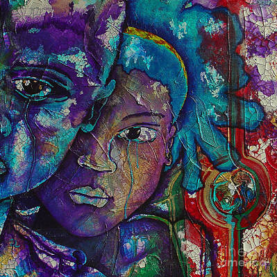 Malcolm X Painting - Hope by Ron Carter