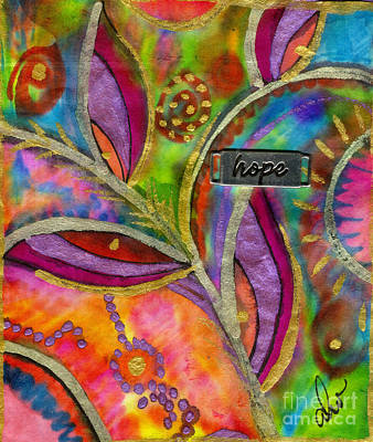 Mixed Media - Hope Springs Anew by Angela L Walker