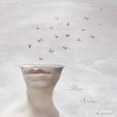Surrealism Digital Art - Hope Springs Eternal by Jacky Gerritsen
