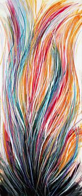 Painting - Hope Springs Eternal by Su Nimon