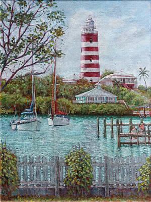 Hope Town Lighthouse Art Print