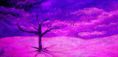 Reality Painting - Hope Tree 2 by Ken Figurski