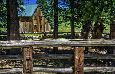 Photograph - Hope Valley Barn by Steph Gabler