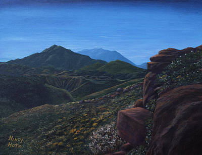 Wildwood Park Painting - Hope Valley by Nancy Hotz
