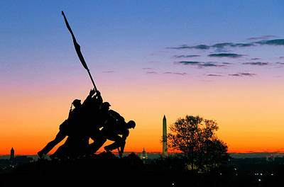 Usmc Photograph - Hopeful As The Dawn by Mitch Cat