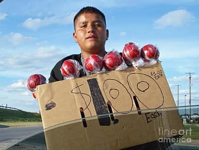 Cardboard Box Photograph - Hopeful Entrepreneur by Joe Jake Pratt