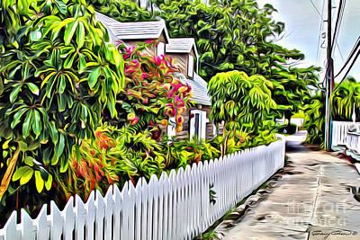 Cay Photograph - Hopetown Street by Carey Chen