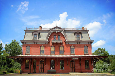 Photograph - Hopewell Railroad Station by Colleen Kammerer