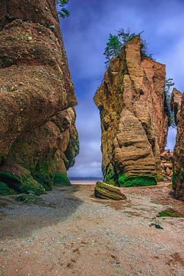 Photograph - Hopewell Rocks IIi by Patrick Boening