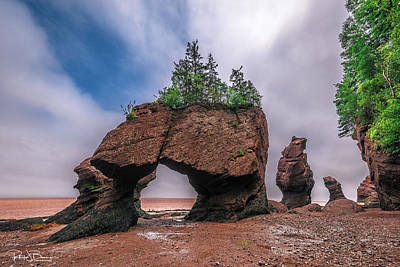 Photograph - Hopewell Rocks by Patrick Boening