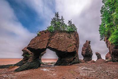 Photograph - Hopewell Rocks by Patrick Boening
