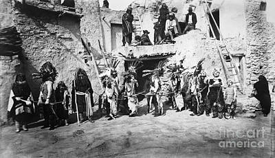 Photograph - Hopi Ceremony 1893 by Granger
