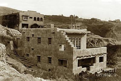 Photograph - Hopi House, 7964 Princess Street , La Jolla, California  Circa 1916 by California Views Mr Pat Hathaway Archives