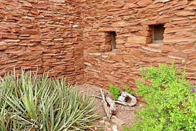 Hopi House Garden Art Print by Julie Niemela