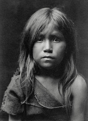 Hopi Indian Girl 1905 Art Print
