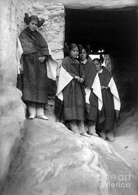 Hopi Maidens, 1906 Art Print by Granger