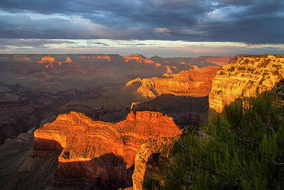 Photograph - Hopi Point Sunset 1 by Arthur Dodd