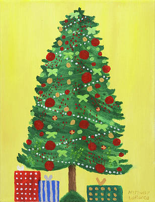 Anthony Hopkins Painting - Hopkins Family Tree by Anthony LaRocca