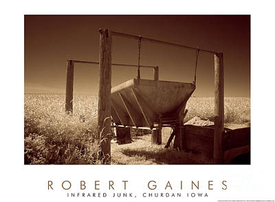 Photograph - Hopper In Junk Yard by Robert Gaines