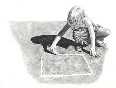 Hopscotch Art Print by Joyce Geleynse