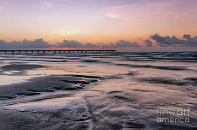 Photograph - Horace Caldwell Pier - Port Aransas Texas by Ronda Kimbrow