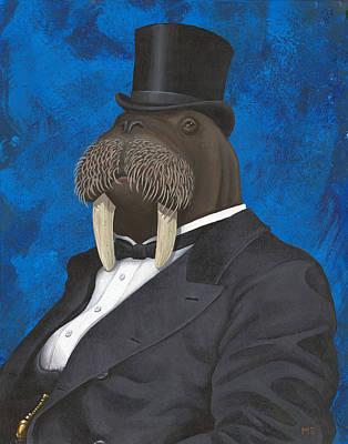 Painting - Horace Hornswaggle IIi by Matt Ebisch