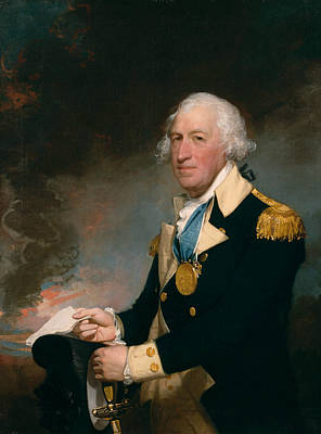 Painting - Horatio Gates by Gilbert Stuart