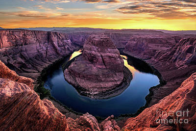 Photograph - Horeshoe Bend by Anthony Heflin