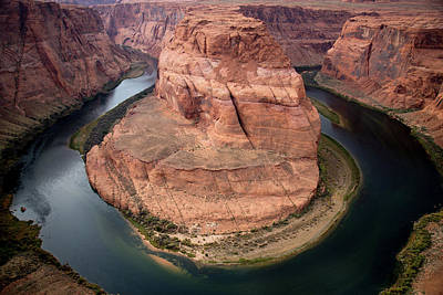 Photograph - Horeshoe Bend by Frank Madia