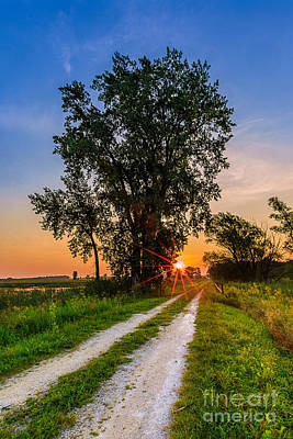 Gravel Road Photograph - Horicon Trails by Andrew Slater