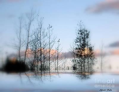 Mixed Media - Horizon by Elfriede Fulda