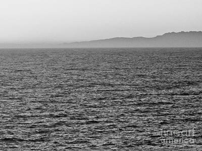 Photograph - Horizon Grayscale by Fei Alexander