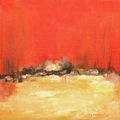 Painting - Horizon by Judy Tolley