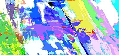 Digital Art - Horizon Time One by Payet Emmanuel