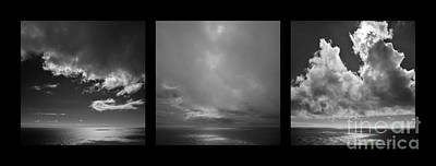 Photograph - Horizons - Same Differences X3  by Paul Davenport