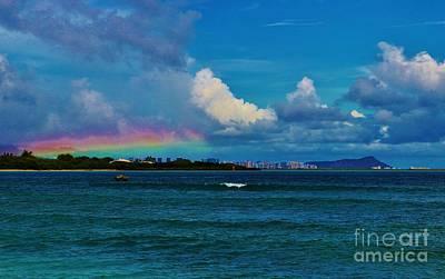 Photograph - Horizontal Rainbow by Craig Wood