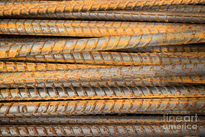 Photograph - Horizontal Rusty Bars Number 1 by Jason Rosette