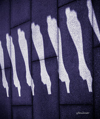 Photograph - Horizontal Shadows by Steven Milner